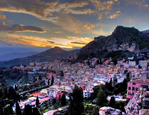 Veduta di Taormina